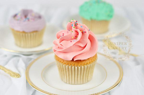 Handy buttercream cupcake techniques