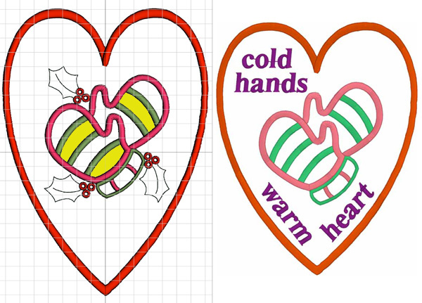 Cold hands patterns