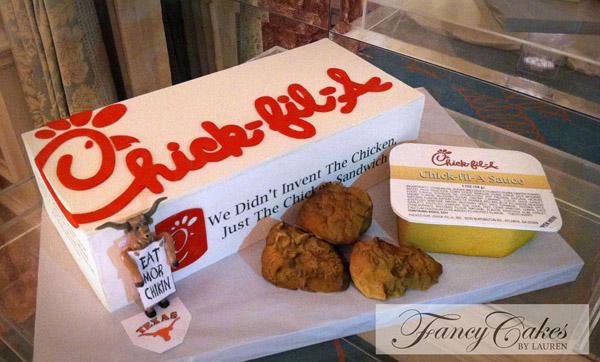 Fried chicken cake by Craftsy instructor Lauren Kitchens