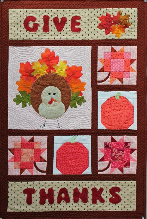Give Thanks A Harvest Wall Hanging