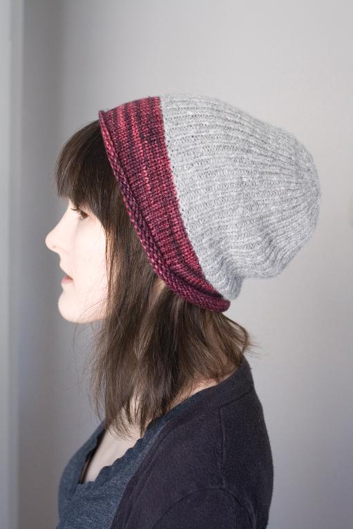 Twinklette Slouchy Hat Pattern on Craftsy
