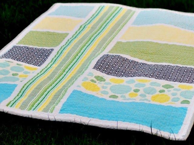 Colorblock Quilt Pattern