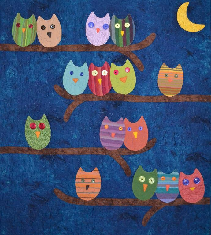 Owl Together Now Quilt Pattern