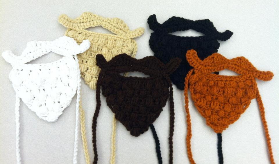 Beard Party crochet pattern