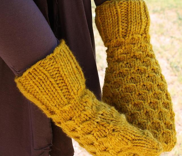 Honey Mittens knitting pattern