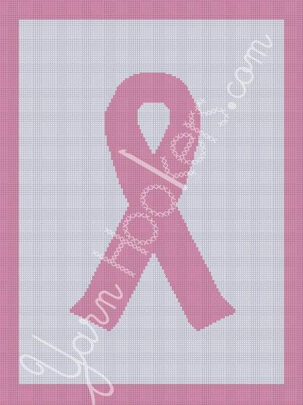 graphic design of pink ribbon