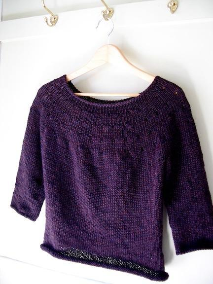 Simplest Sweater knitting pattern