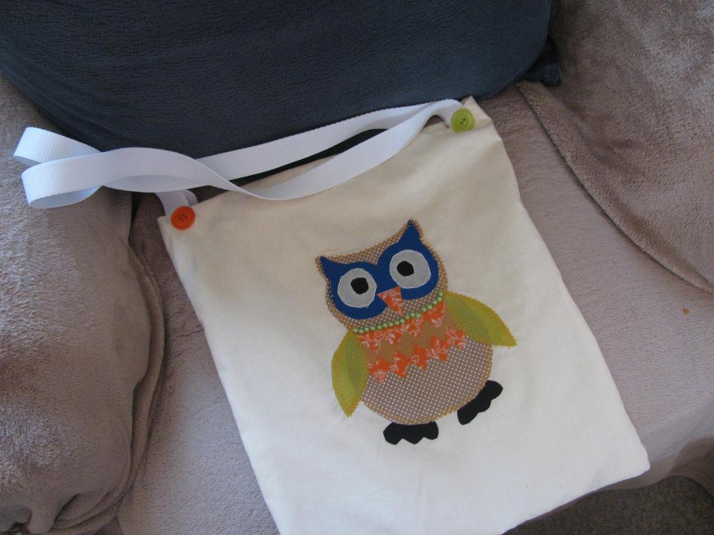 Oliver Owl Book Bag