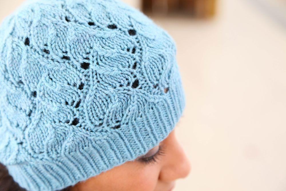 True Lace Hat knitting pattern