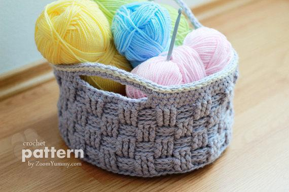 Beautiful Crocheted Basket