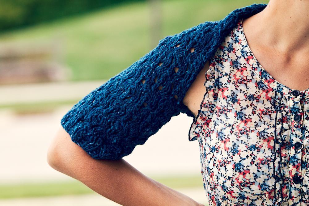 Generations Shrug knitting pattern