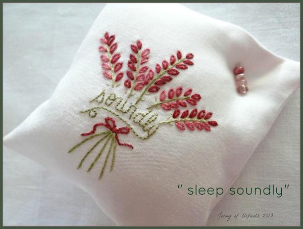Sleep Soundly Sachet by Jenny of Elefantz on Bluprint