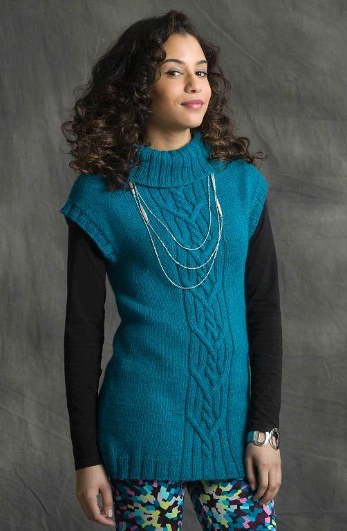 High Rise Vest knitting pattern