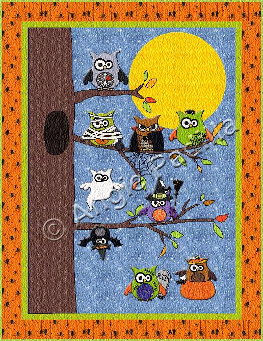 Owloween Hangout Quilt