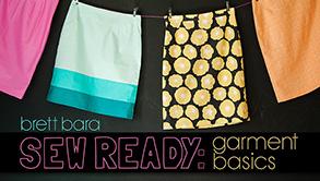 Title image for Sew Ready: Garment Basics Bluprint class