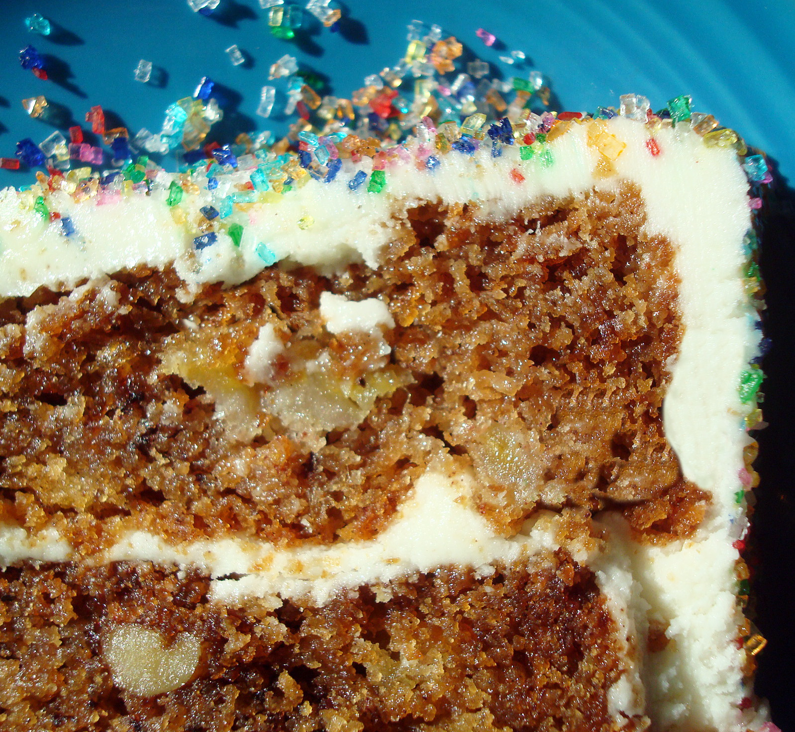GF Cake - so festive!