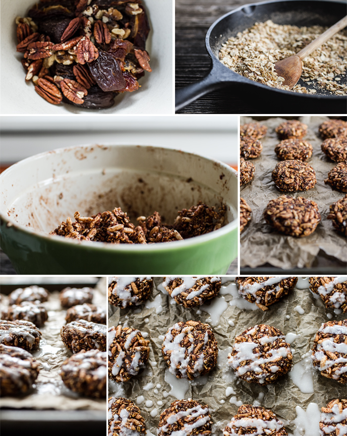 Recipe Photography for Granola Cookie