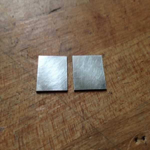Step One- Prep metal