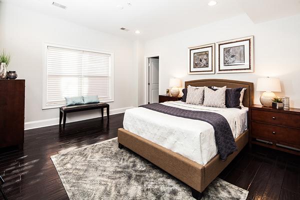 interior photo of a bedroom