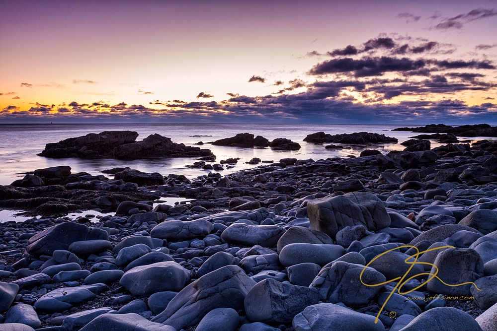 Seaside boulders, Marginal Way, Ogunquit, ME.