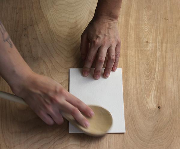 burnishing paper