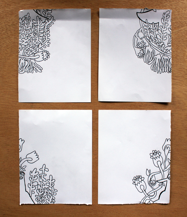 pattern flipped