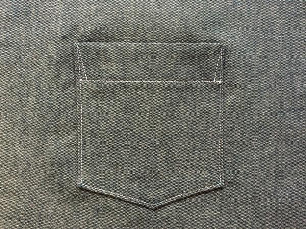 finished pocket