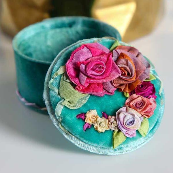 Embroidery With Ribbon Mary Jo Hiney of Bluprint