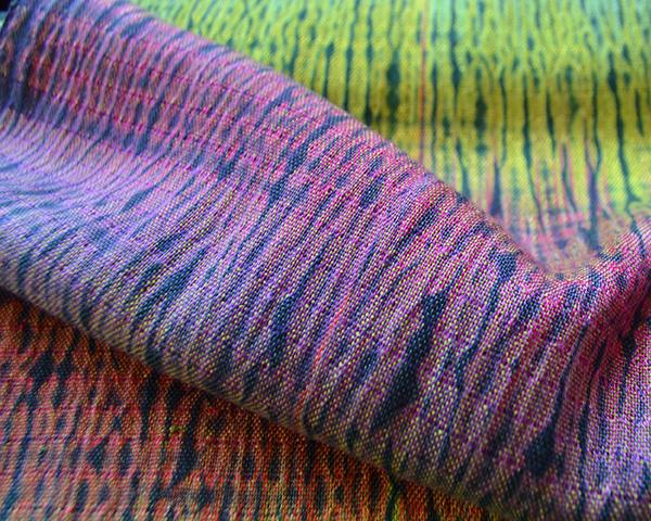 woven shibori cloth
