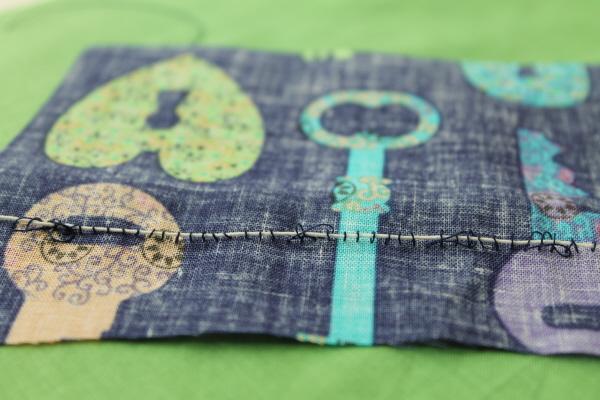 Loose shirring tension in sewing