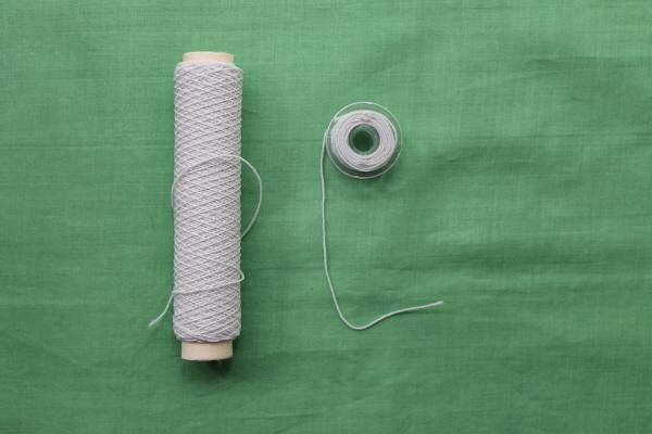 Shirring: winding the bobbin