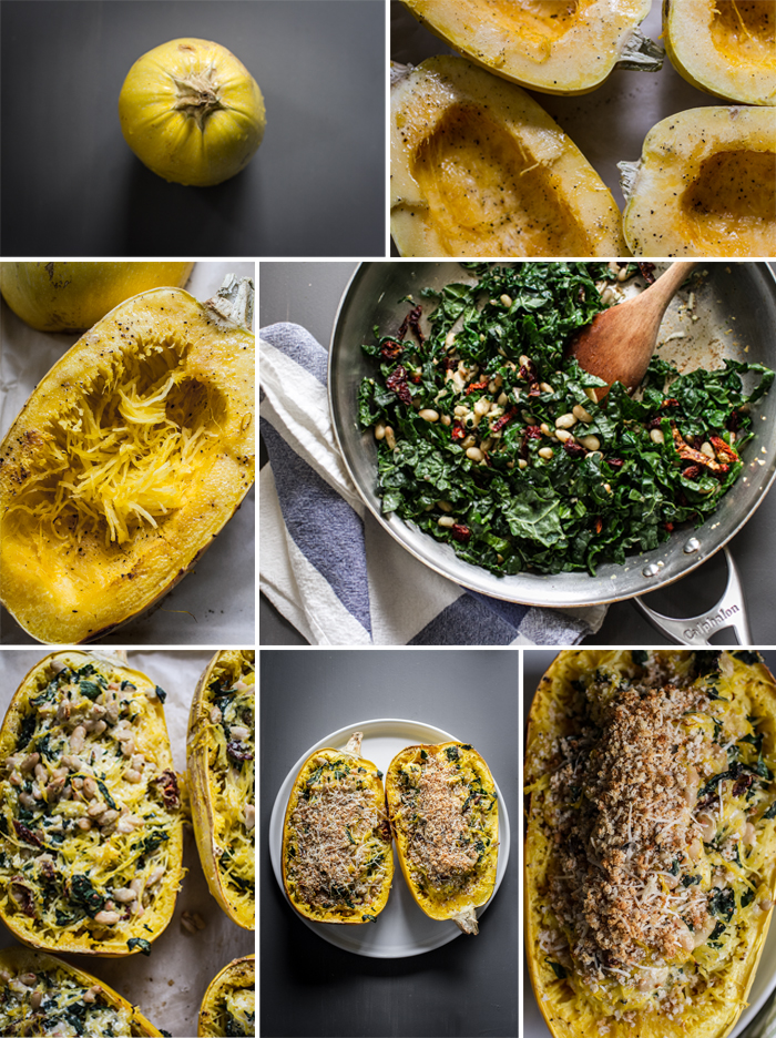 Recipe Photography for Spaghetti Squash
