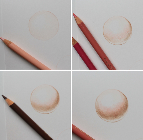 colored pencil steps