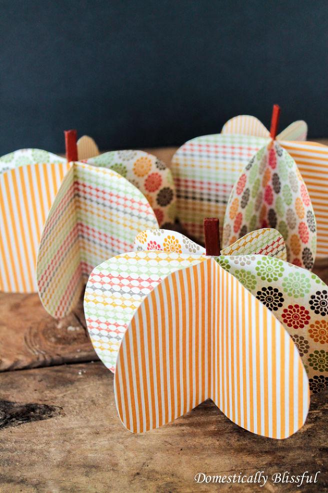 3-D DIY Paper Pumpkins