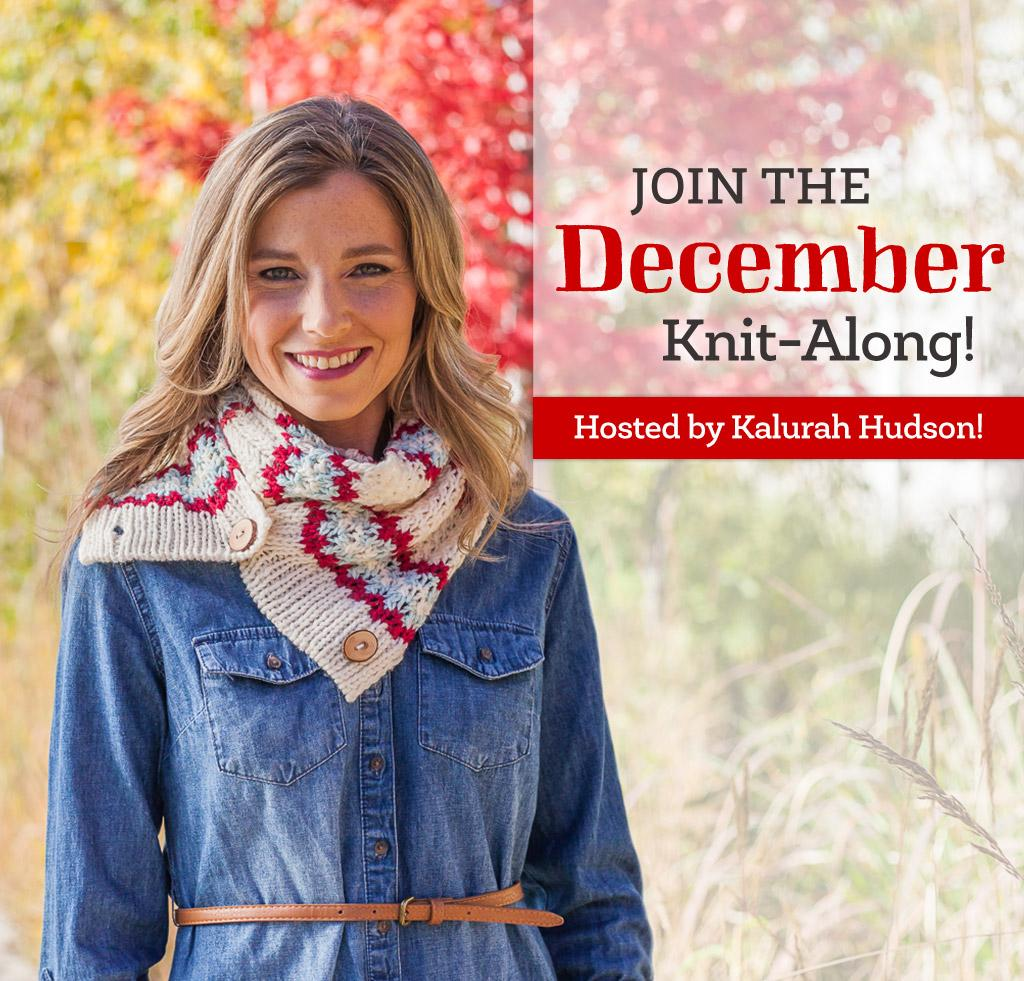Join the Bluprint December Knit-Along!