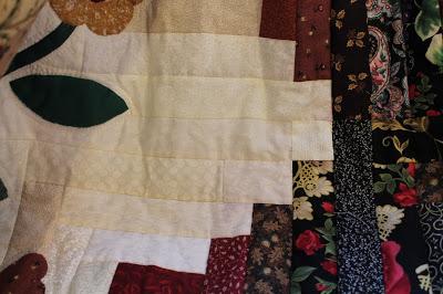 repaired quilt
