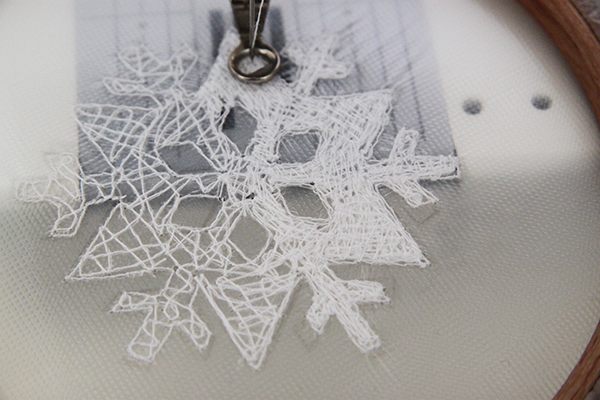 layers of stitches
