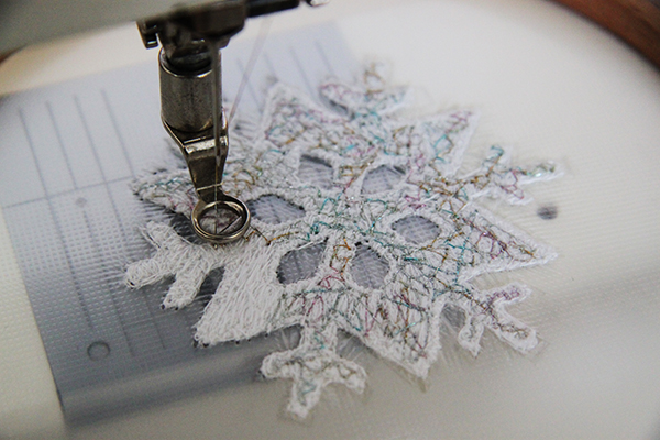 adding decorative thread