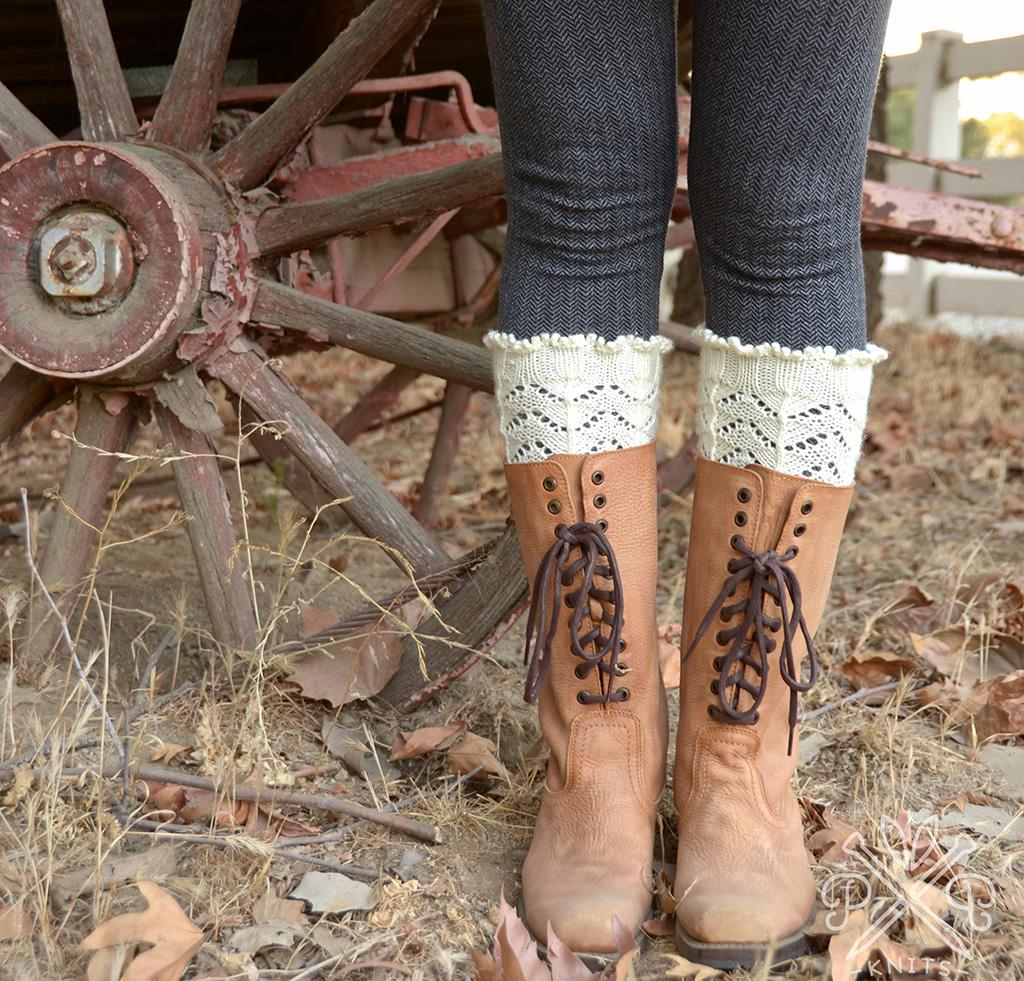 Asheville Boot Liners knitting pattern