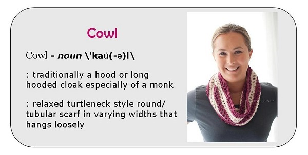 Cowl definition Graphic - Chicago Cowl crochet pattern