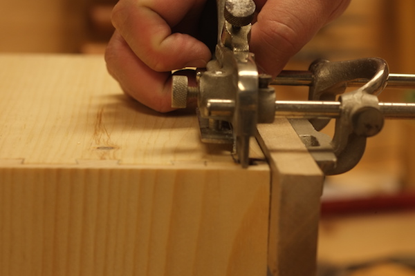 Setting the plow plane