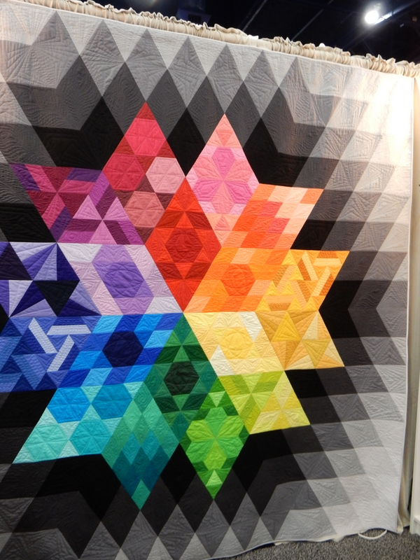 Quilt by Julie Herman of Jaybird Quilts