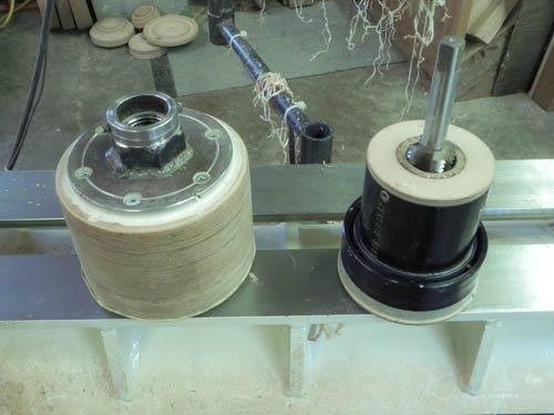 Tap used for threading MDF.