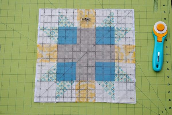 Square a Quilt Block