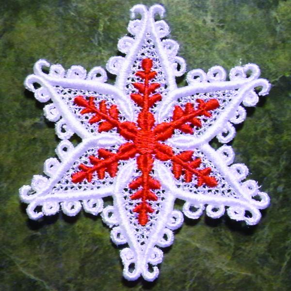 FSL snowflake ornament