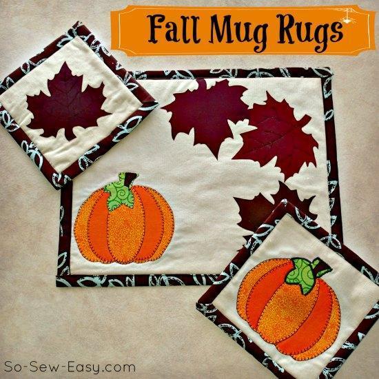 Fall Mug Rug