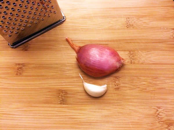 Shallot garlic