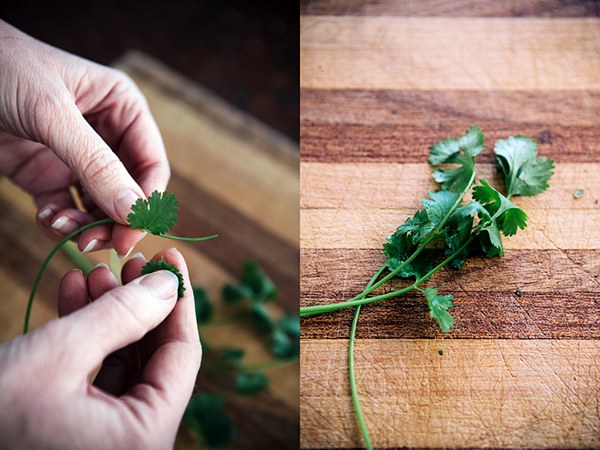 How To Chop Fresh Herbs-5
