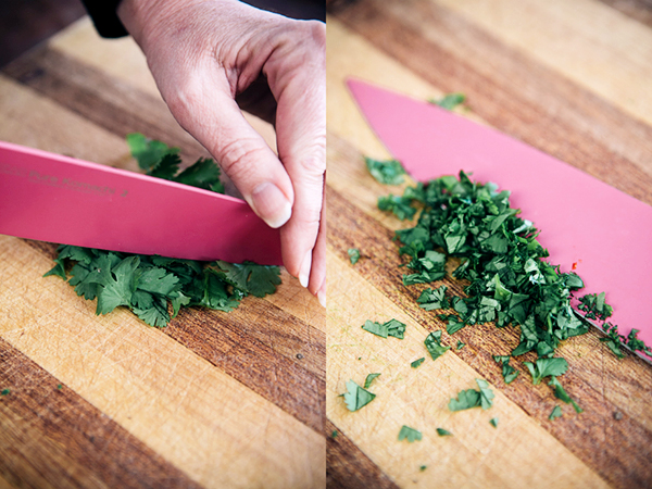 How To Chop Fresh Herbs-6