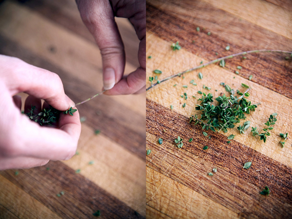 How to chop fresh herbs 3